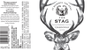 2019 St. Huberts The Stag Santa Barbara County Chardonnay Front & Back Label, image 2