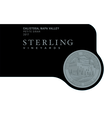 2017 Sterling Vineyards Calistoga Petite Sirah Front Label, image 2