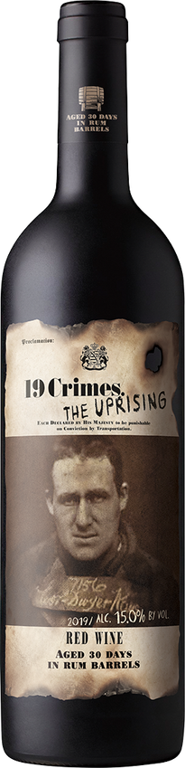 2019 19 Crimes The Uprising Red Blend