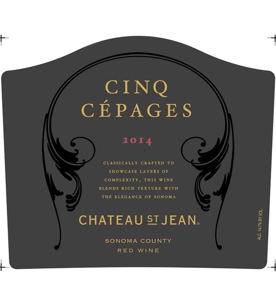2014 Chateau St. Jean Cinq Cepages Red Blend