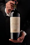 Sommelier Holding Bottle of 2016 Beaulieu Vineyard Rarity Cabernet Sauvignon , image 3