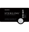 2015 Sterling Vineyards Reserve Calistoga Cabernet Sauvignon Front Label