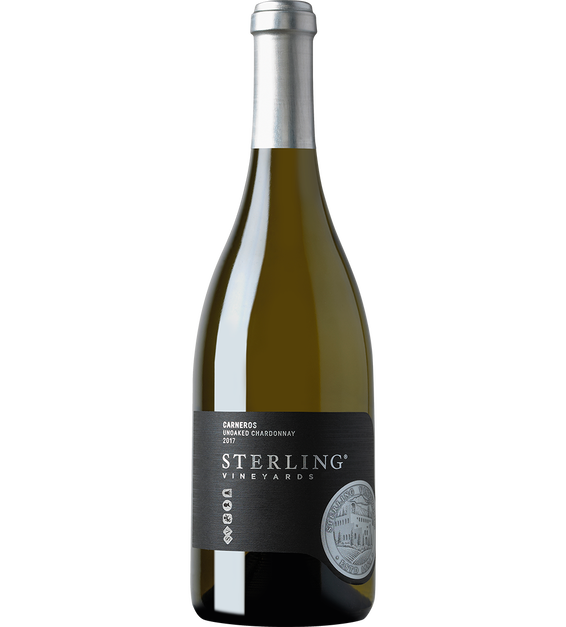 2017 Sterling Vineyards Unoaked Carneros Chardonnay