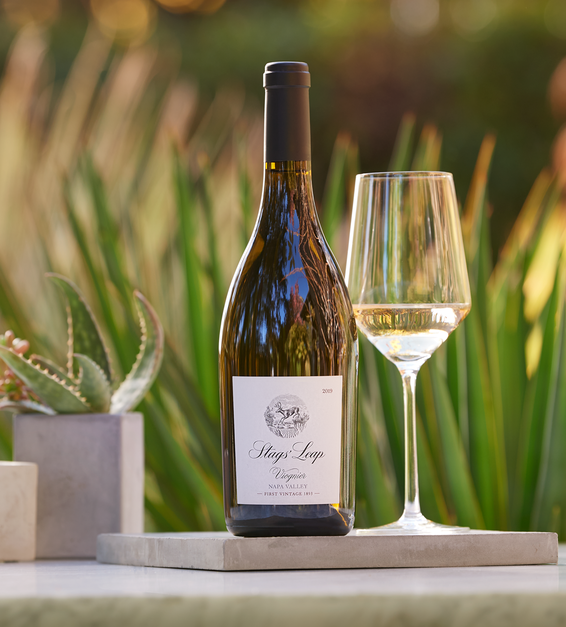 Stags Leap Viognier Tabletop Setting