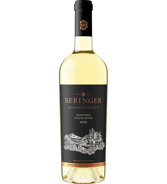2019 Beringer Meritage Knights Valley White Blend Bottle Shot