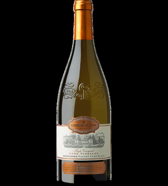 2018 Chateau St. Jean Lyon Vineyard Alexander Valley Fume Blanc Back Label