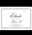 2018 Etude Carneros Estate Pinot Noir Front Label, image 2