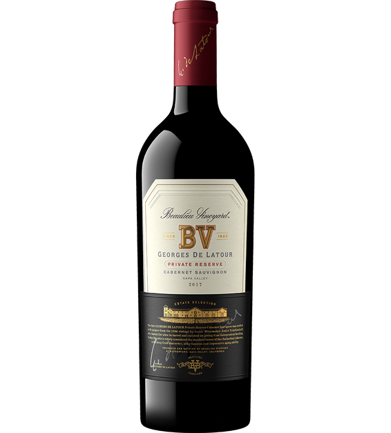 2017 Beaulieu Vineyard Georges de Latour Cabernet Sauvignon Magnum Bottle Shot