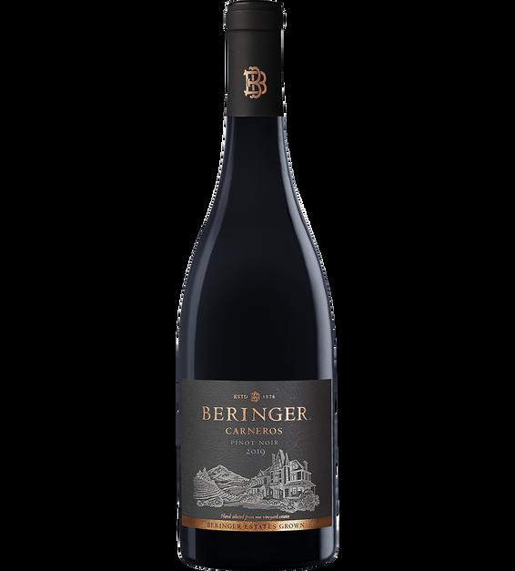 2019 Beringer Winery Exclusive Carneros Pinot Noir Bottle Shot