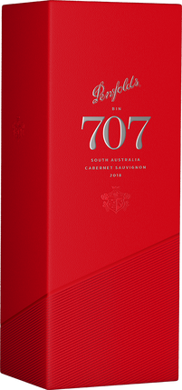 2018 Bin 707 Cabernet Sauvignon with Gift Box