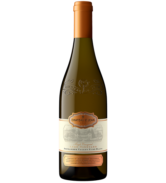 2019 Chateau St Jean Lyon Vineyard Fumé Blanc Bottle Shot