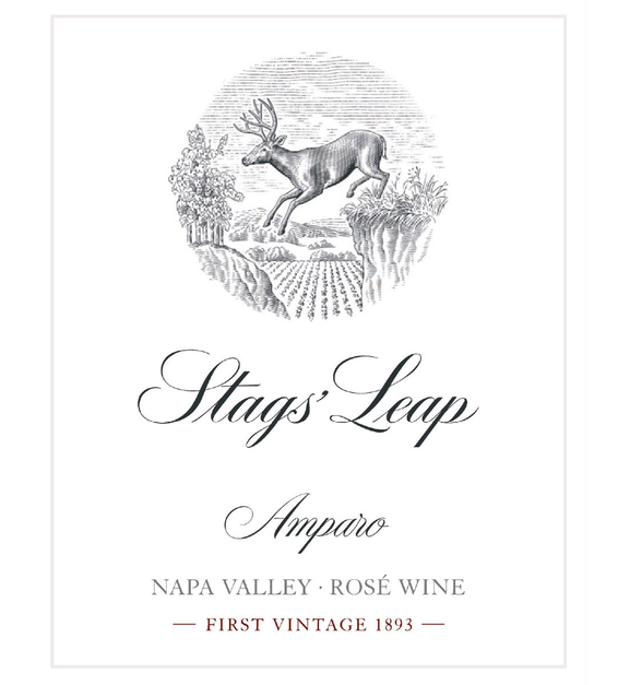2019 Stags Leap Amparo Rose Front Label