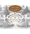 2016 Chateau St. Jean Reserve Sonoma County Chardonnay Front Label, image 2