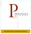 2014 Provenance Vineyards Winemakers Reserve Napa Valley Red Blend Front Label