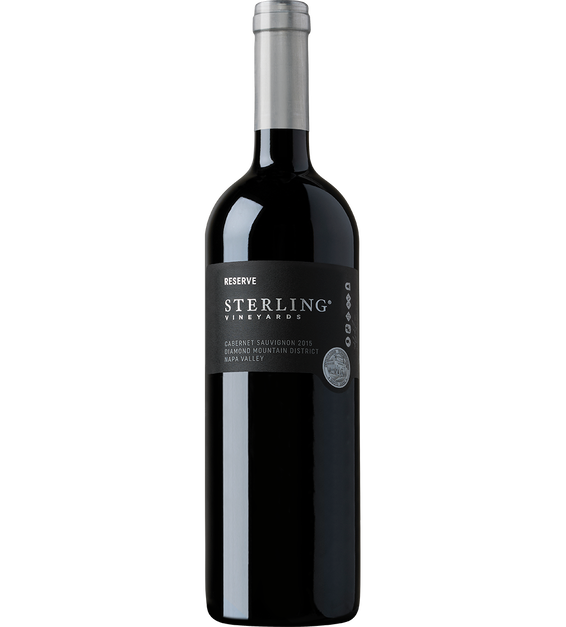 2015 Sterling Vineyards Diamond Mountain District Napa Valley Cabernet Sauvignon