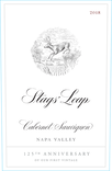 2018 Stags' Leap 125th Anniversary Napa Valley Cabernet Front Label, image 3