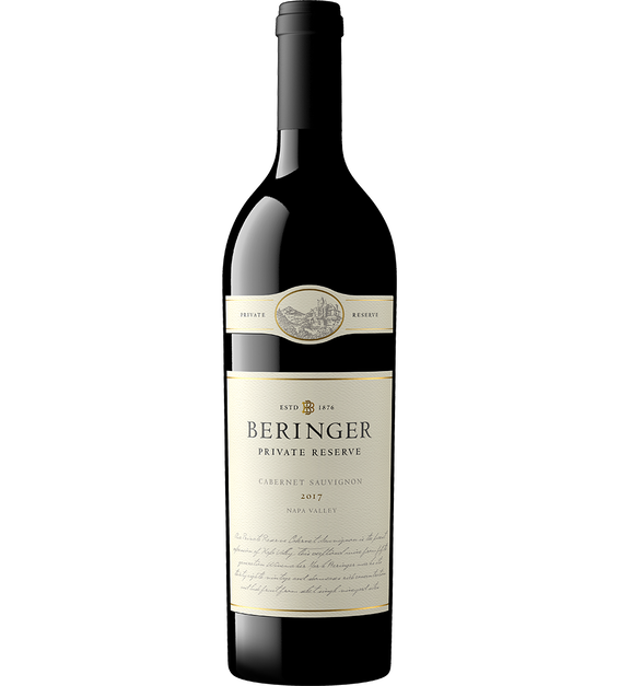 2017 Beringer Private Reserve Napa Valley Cabernet Sauvignon Bottle Shot