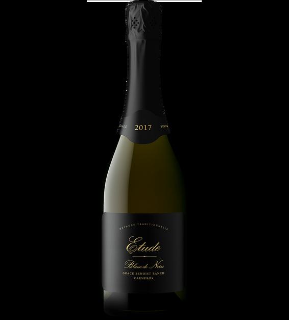 2017 Etude Grace Benoist Ranch Carneros Blanc de Noirs Bottle Shot